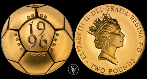 1996 double proof sovereign Celebration of Football