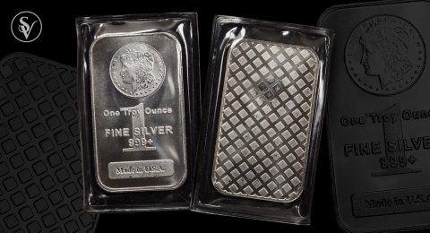 1 ounce pure silver proof bar sealed USA
