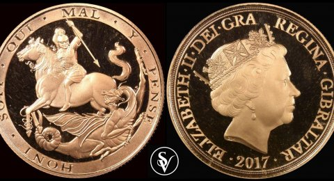 2017 Giblartar double sovereign proof