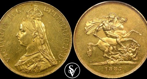 5 pound gold sovereign