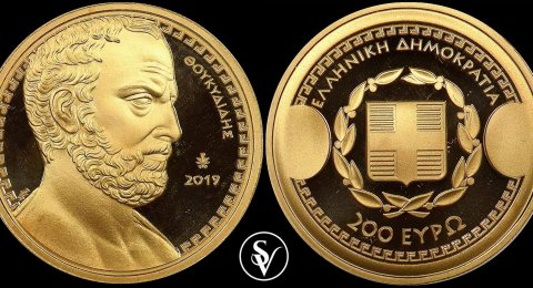 2019 Thoukididis gold 200 euro commemorative