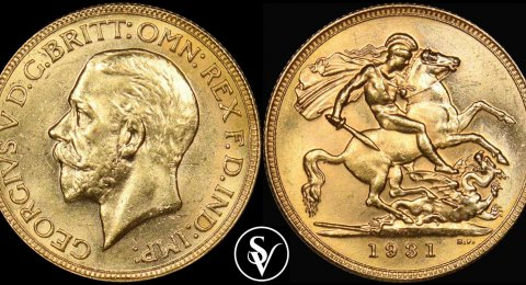 Gold sovereign mixed dates